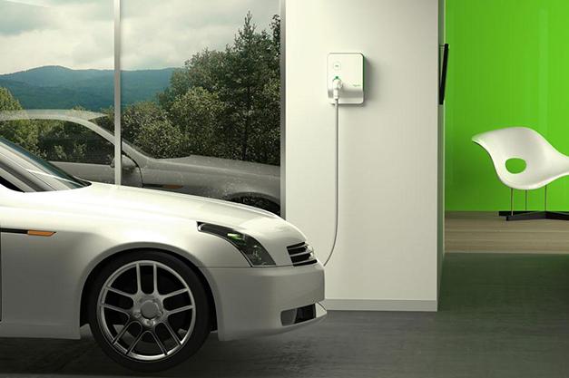 Borne pour recharge voiture électrique